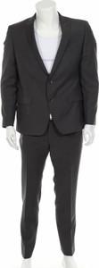 Czarny garnitur Roy Robson z wełny