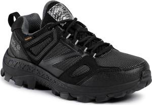 Buty sportowe Jack Wolfskin sznurowane z płaską podeszwą