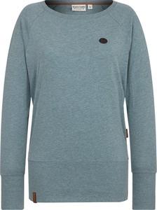 Niebieski sweter Naketano z bawełny
