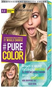SCHWARZKOPF_#Pure Color farba do włosów w żelu trwale koloryzująca 8.0 Prawdziwy Blond