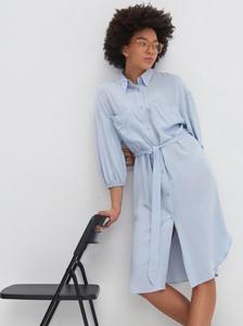 Sukienka House szmizjerka z długim rękawem