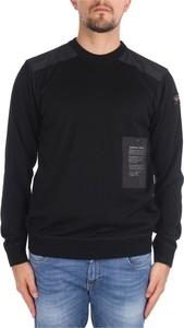 Czarny sweter Paul & Shark z wełny