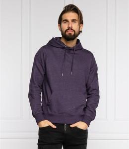 Fioletowa bluza Calvin Klein