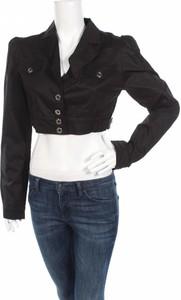 Czarna kurtka Mood Fashioner w stylu casual krótka