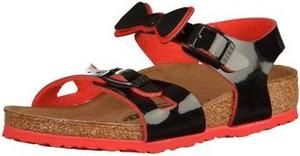 Czarne buty dziecięce letnie birkenstock