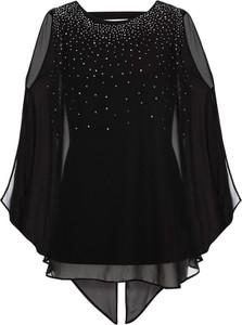Czarna bluzka bonprix bodyflirt boutique