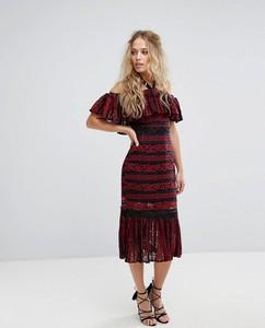 Czerwona sukienka Foxiedox z bawełny
