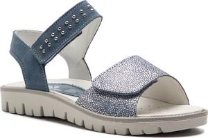 Niebieskie buty dziecięce letnie Primigi na rzepy