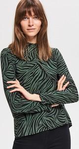 Zielona bluzka Reserved z golfem