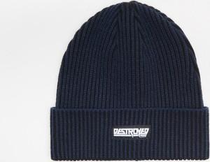 Granatowa czapka Cropp