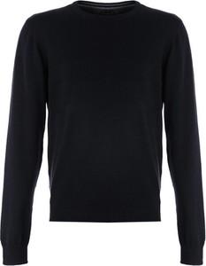 Granatowy sweter Multu