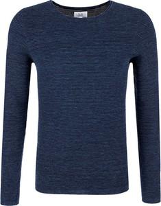Niebieski sweter Q/s Designed By - S.oliver w stylu casual