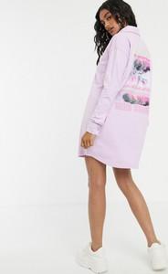 Sukienka Missguided koszulowa z dżerseju