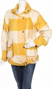 Żółty płaszcz Desigual