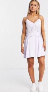 Fioletowa sukienka Gilli