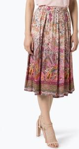 Różowa spódnica Apriori w stylu boho