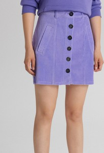 Spódnica Cropp mini ze sztruksu w stylu casual