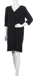 Czarna sukienka Selected Femme w stylu casual z dekoltem w kształcie litery v mini