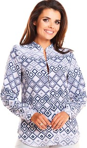 Bluzka Awama z dekoltem w kształcie litery v