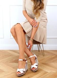 Sandały Buty Damskie na platformie