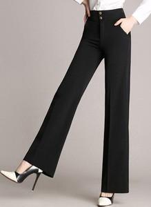 Czarne spodnie Cikelly w stylu retro