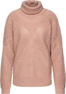 Różowy sweter Trussardi Jeans