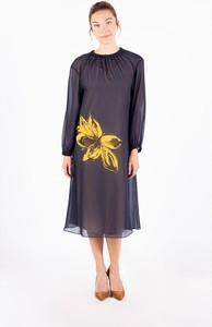 Sukienka MEXX midi z długim rękawem