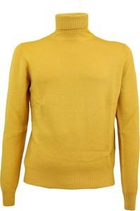 Żółty sweter Gran Sasso w stylu casual