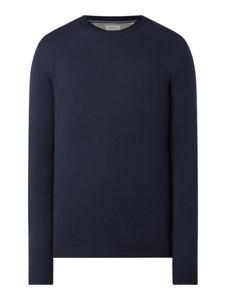 Granatowy sweter Esprit z wełny