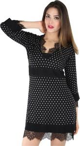 Sukienka Twinset w stylu casual z długim rękawem