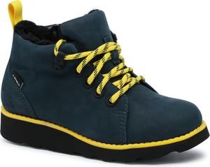 Buty dziecięce zimowe Clarks sznurowane