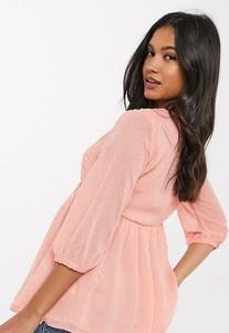 Różowa bluzka New Look Maternity