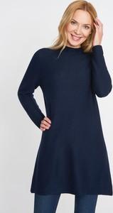 Granatowy sweter QUIOSQUE