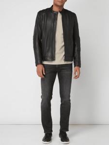 Czarna kurtka BOSS Casual w stylu casual