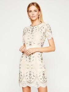 Sukienka Twinset mini prosta z okrągłym dekoltem