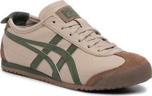 Brązowe buty sportowe Onitsuka Tiger sznurowane