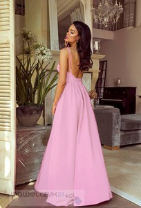Różowa sukienka Emo Sukienki maxi