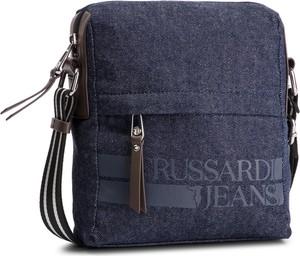 Niebieska torba Trussardi Jeans