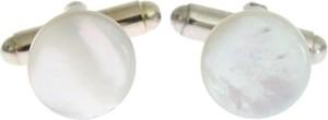 Dolce & Gabbana Okrągły Spinki srebrne Mosiądz