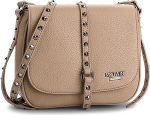 Brązowa torebka Twinset w młodzieżowym stylu