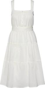 Sukienka Vero Moda z bawełny bez rękawów mini