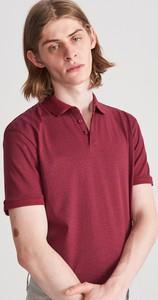 Czerwona koszulka polo Reserved