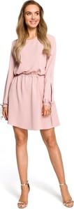 Sukienka Merg mini rozkloszowana