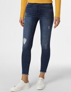 Niebieskie jeansy Noisy May w street stylu