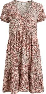 Sukienka Vila w stylu casual z krótkim rękawem