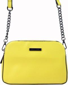 Żółta torebka Pierre Cardin