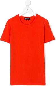 Koszulka dziecięca Dsquared2 Kids z bawełny