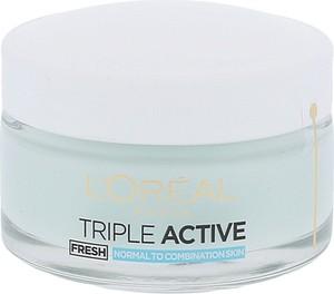L'Oreal Paris L´oréal Paris Triple Active Fresh Hydrating Gel Cream Krem Do Twarzy Na Dzień 50Ml