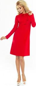 Sukienka NUMOCO mini z żabotem