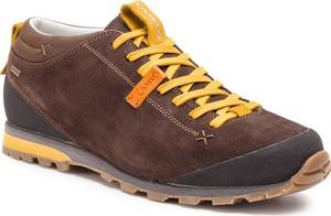 ae1fbd5f Brązowe buty trekkingowe Aku w sportowym stylu z goretexu